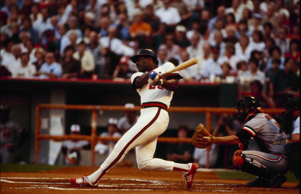 Don Baylor of California Angels