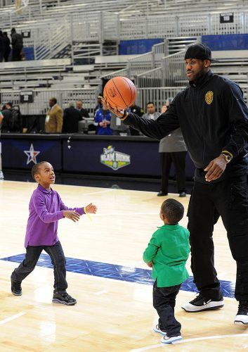Lebron James kids