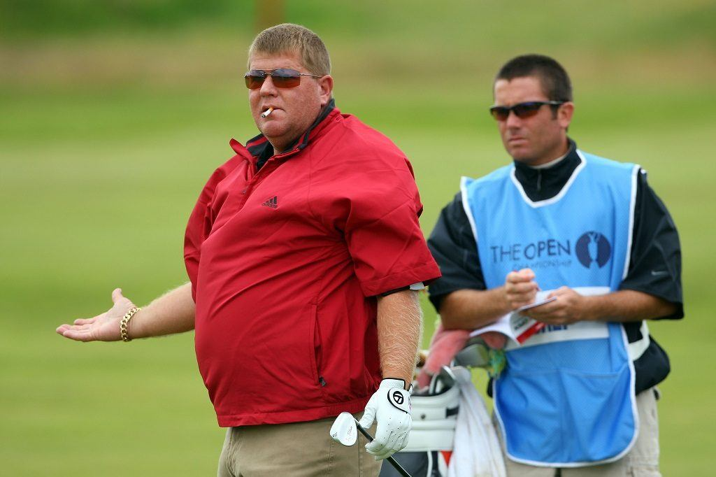 John Daly at the 2008 British Open