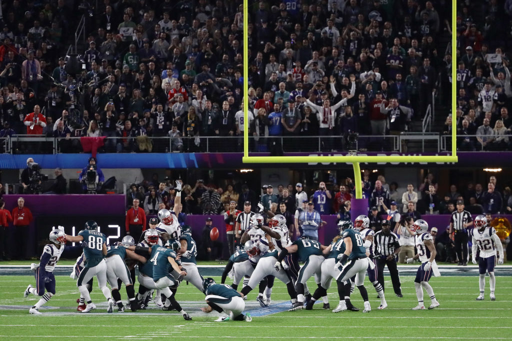 Where the ball goes after a missed field goal is one of the major differences between NFL and college football