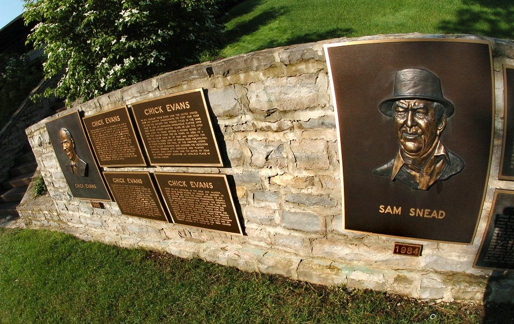 Mémorial de Sam Snead au Muirfield Village Golf Club en Ohio