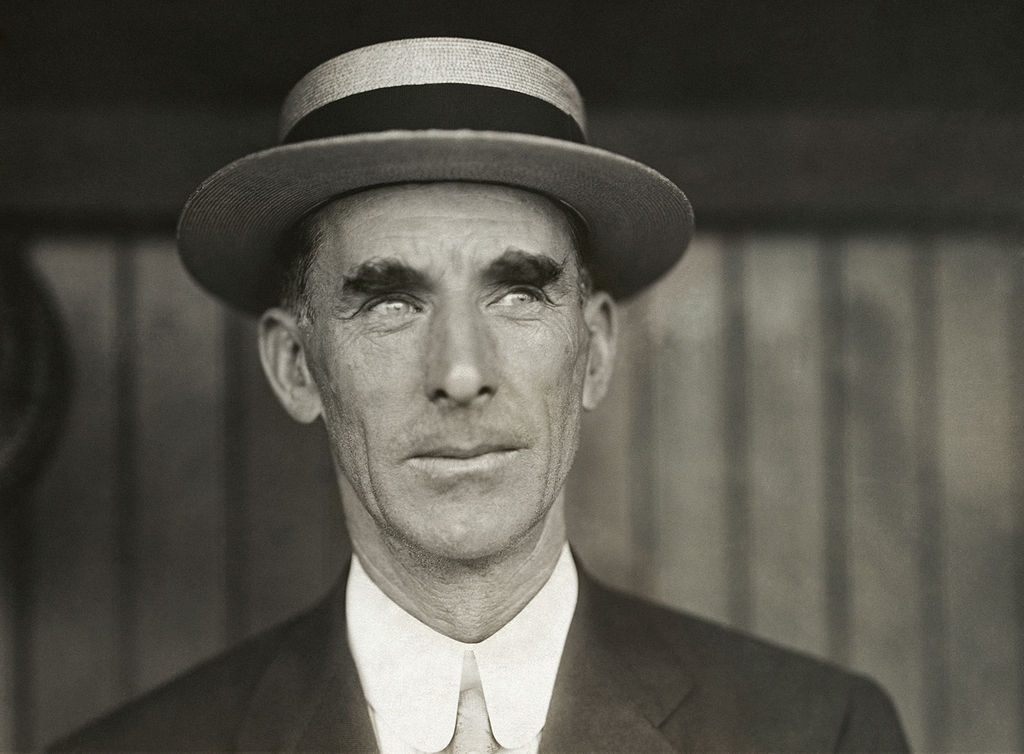 MLB baseball manager Connie Mack