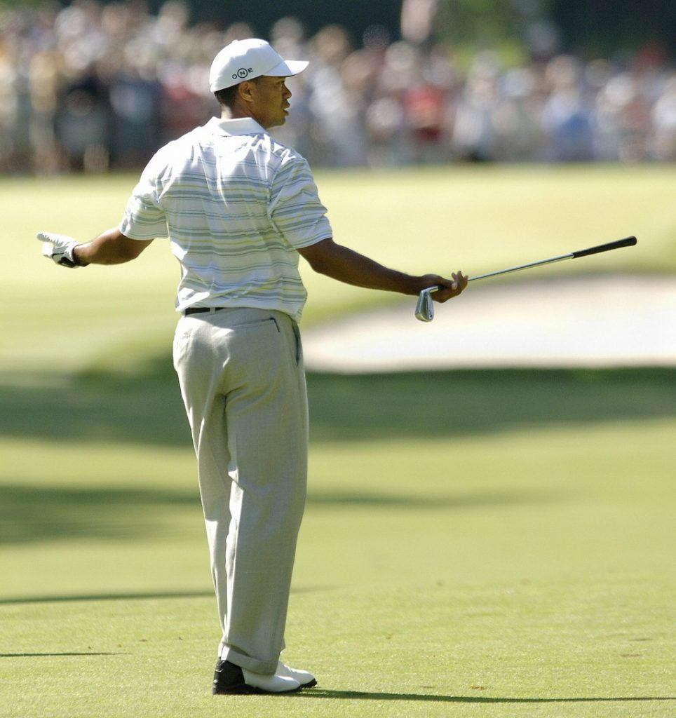 Tiger Woods at the U.S. Open in 2006