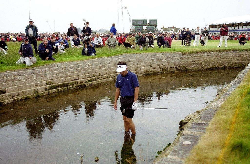Jean van de Velde at the British Open in 1999