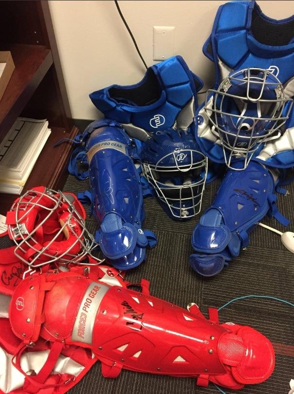 Modern-era catchers gear