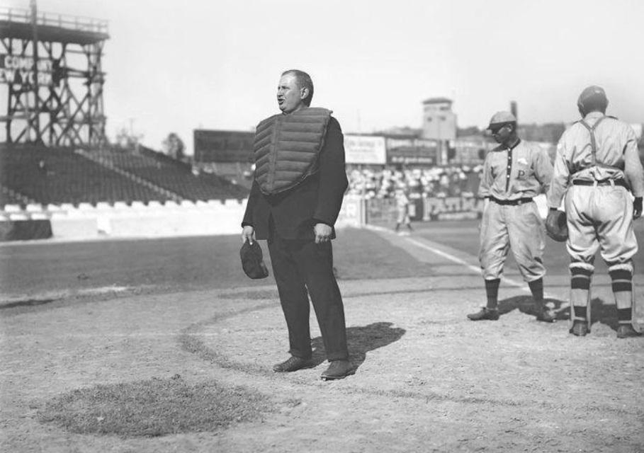 National League umpire Cy Rigler circa 1911