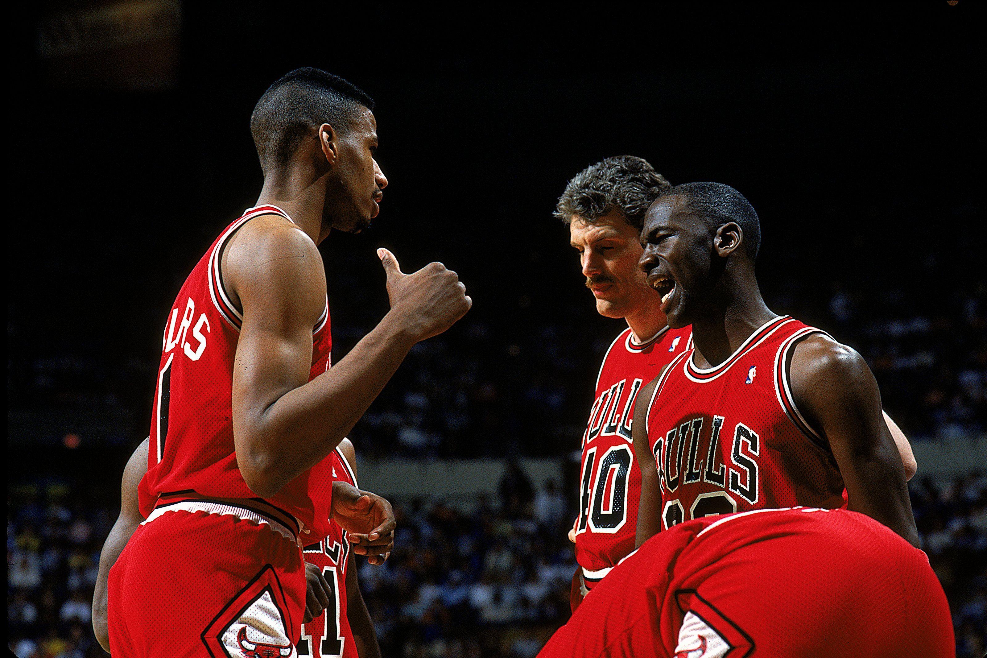 Brad Sellers Dave Corzine Michael Jordan early career 1987-88 season