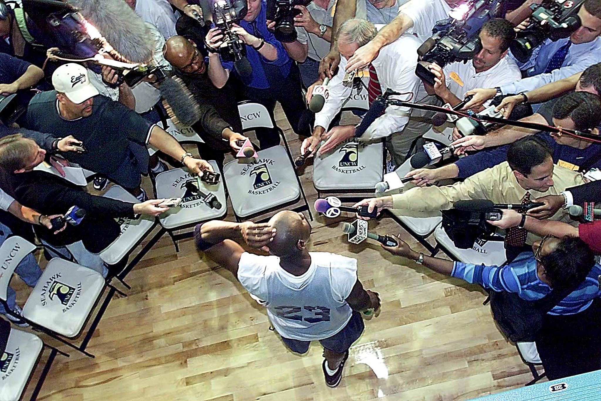 Michael Jordan 2001 comeback