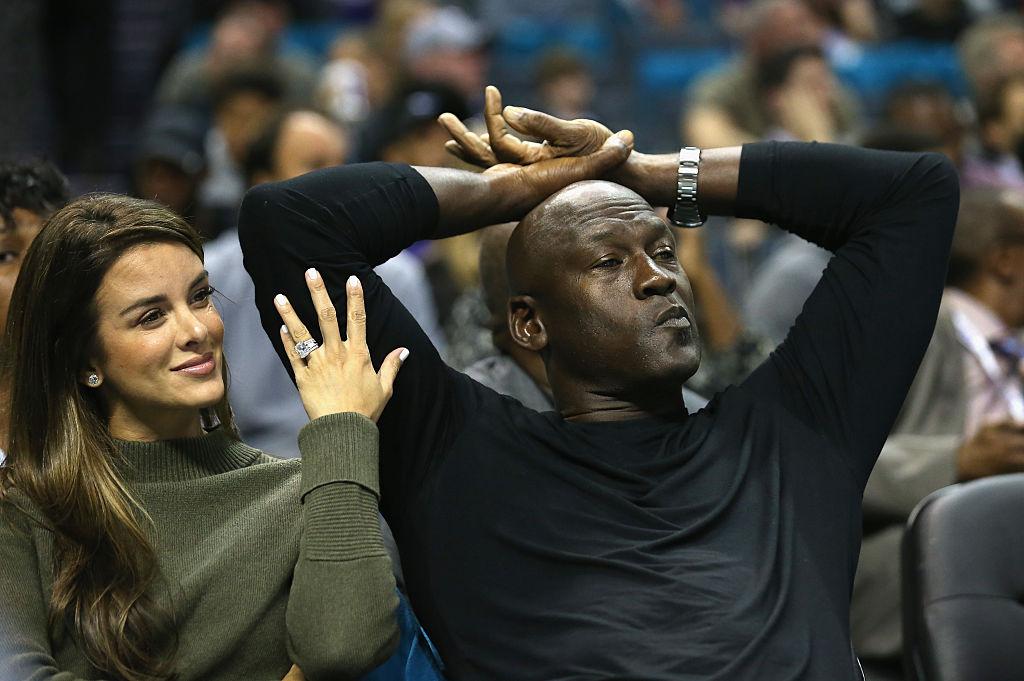 Michael Jordan and second wife Yvette Prieto