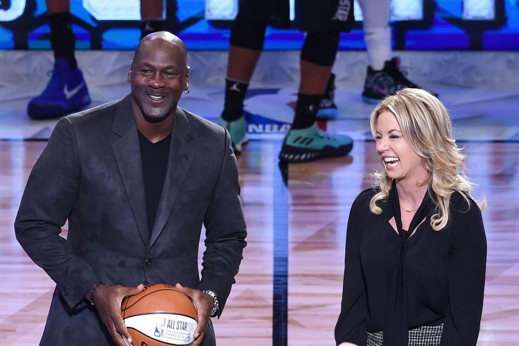 Michael Jordan 2018 NBA All Star game