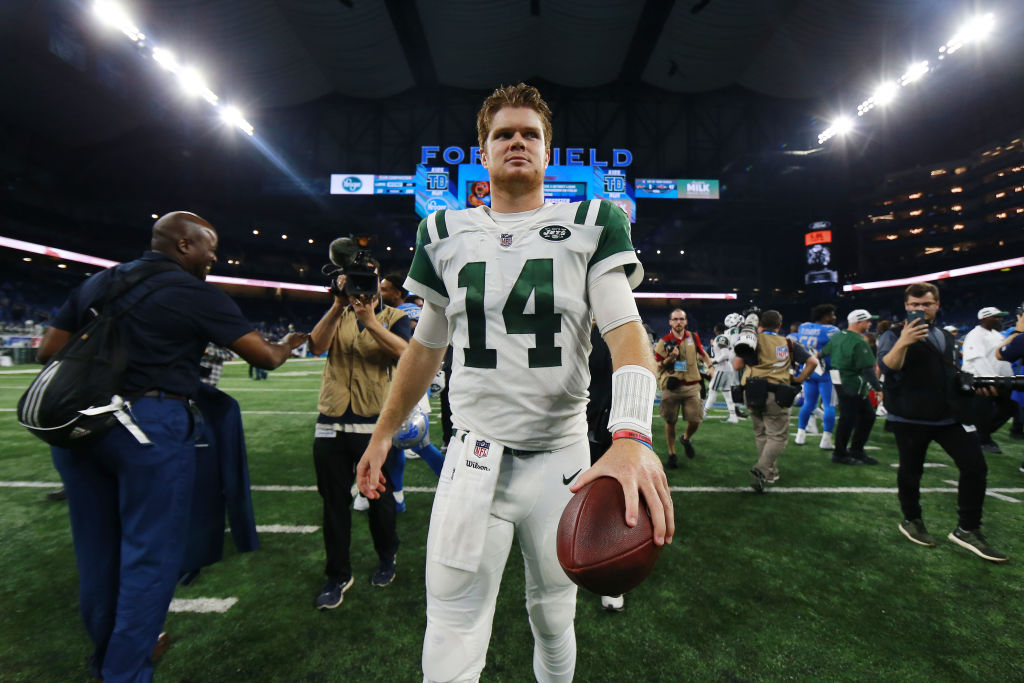 Sam Darnold New York Jets NFL easiest schedules 2018