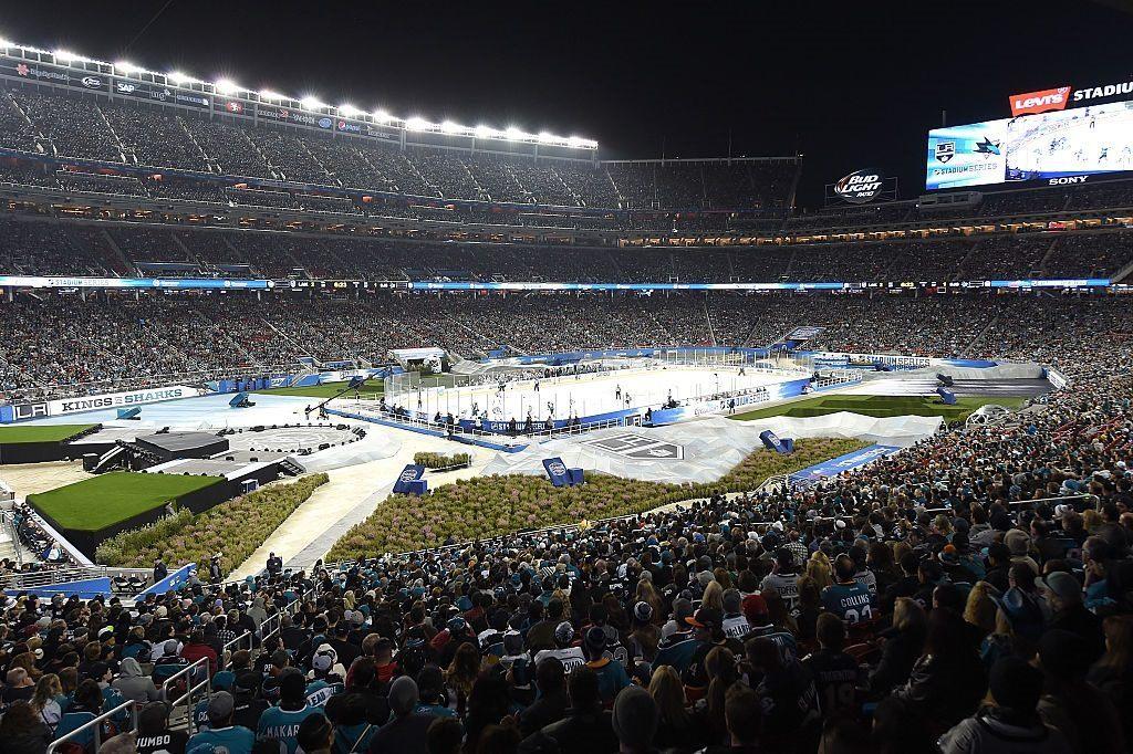 The 2015 NHL Stadium Series game in Santa Clara, California