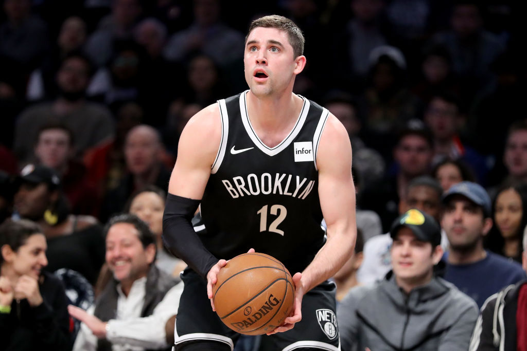 Brooklyn Nets player Joe Harris