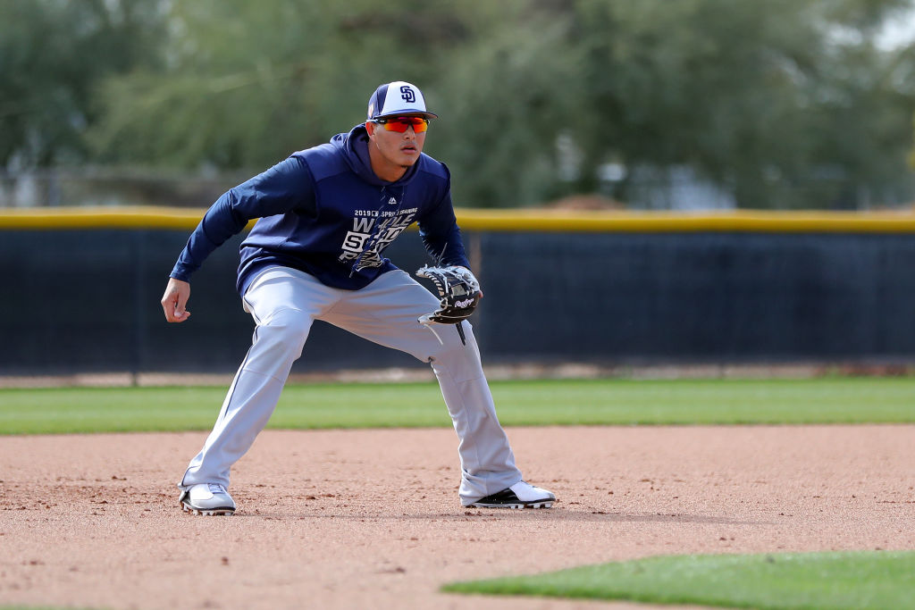 Manny Machado of the San Diego Padres