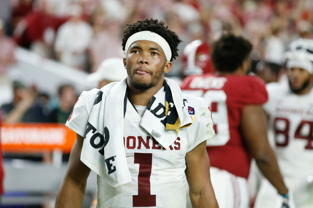 Quarterback Kyler Murray