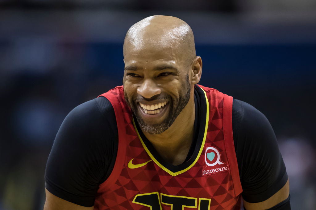 NBA player Vince Carter