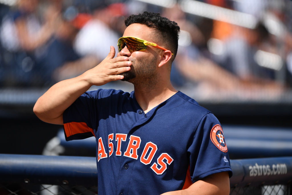 Jose Altuve and the Houston Astos have some of the best World Series odds in 2019