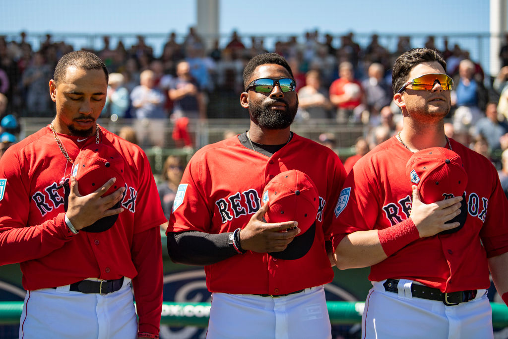 The Boston Red Sox have one of the best outfield trios in 2019