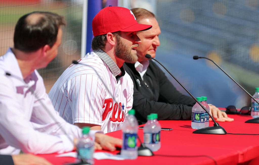Bryce Harper signed one of the biggest contracts in baseball history in 2019.