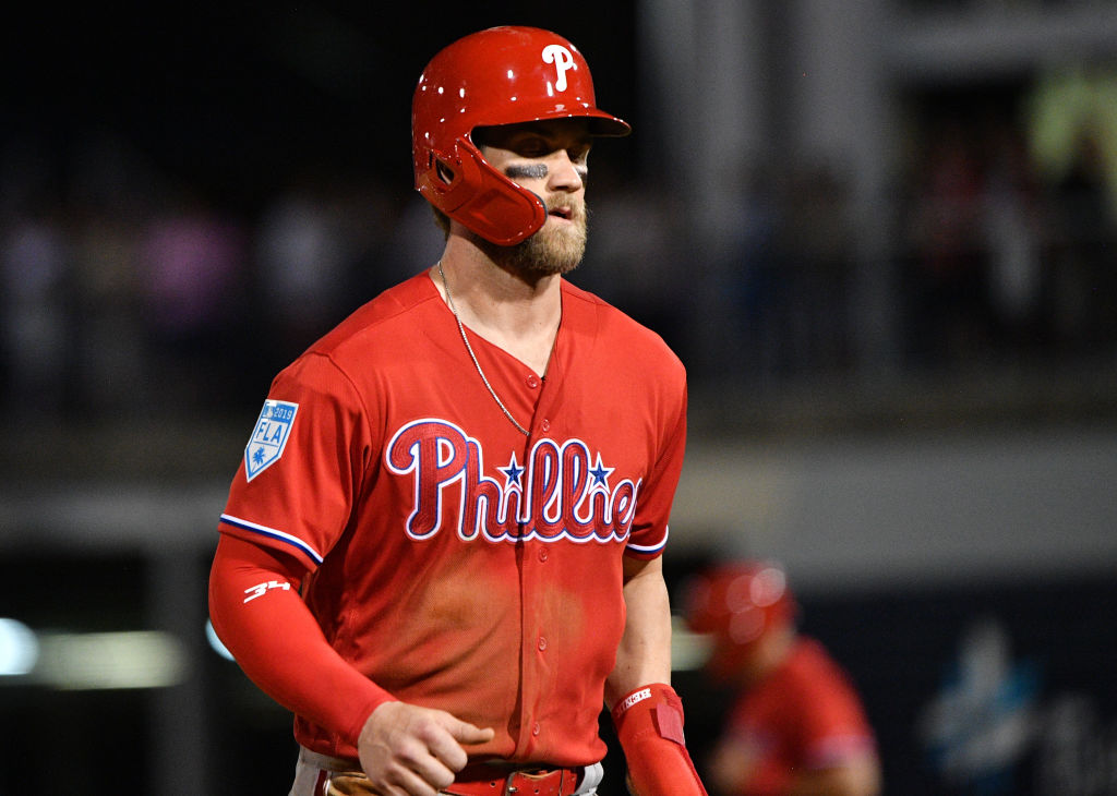 Once Bryce Harper signed with the Phillies, he immediately made an impact.