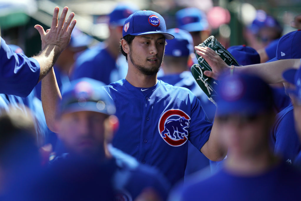 A healthy Yu Darvish is one reason the Chicago Cubs might have the best rotation in the NL