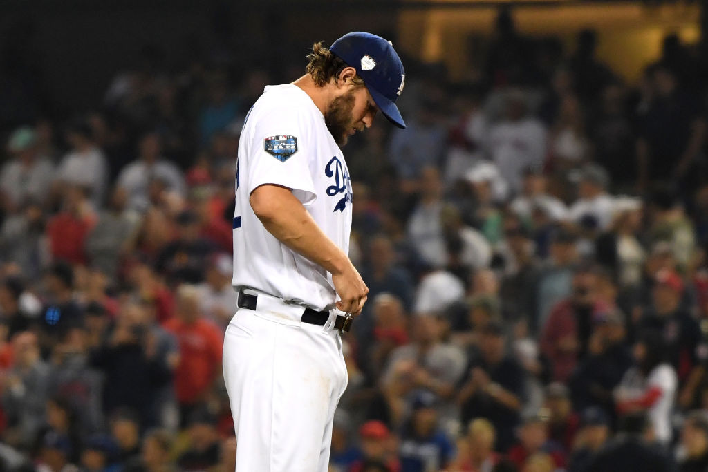 The numbers indicate Clayton Kershaw is starting to regress