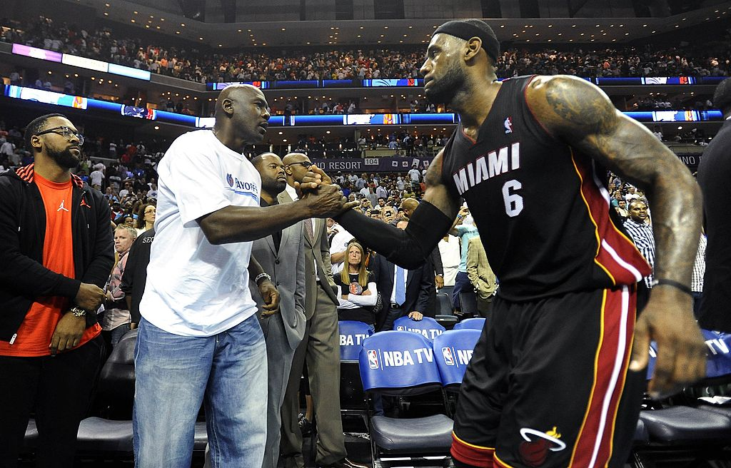 LeBron James and Michael Jordan both enjoyed strong seasons after joining new teams (the Lakers and Wizards, respectively).