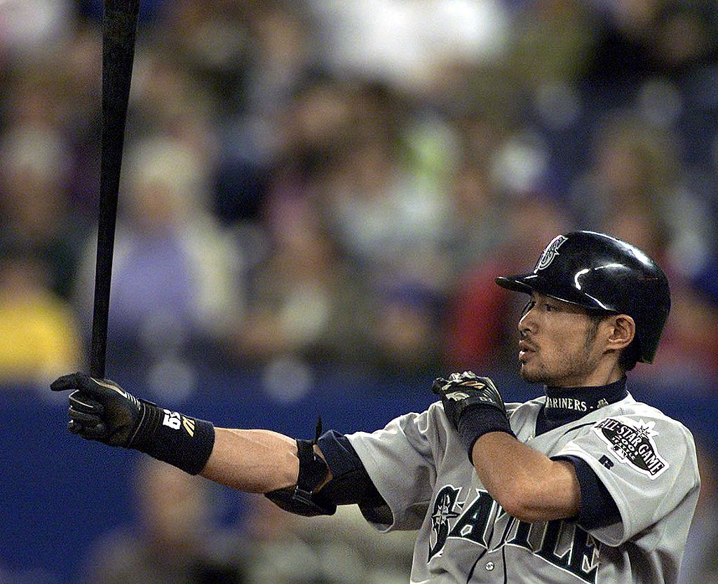 Ichiro recorded more than 4,300 hits during his professional career in Japan and the United States