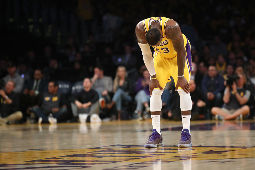 LeBron James and the Los Angeles Lakers have problems