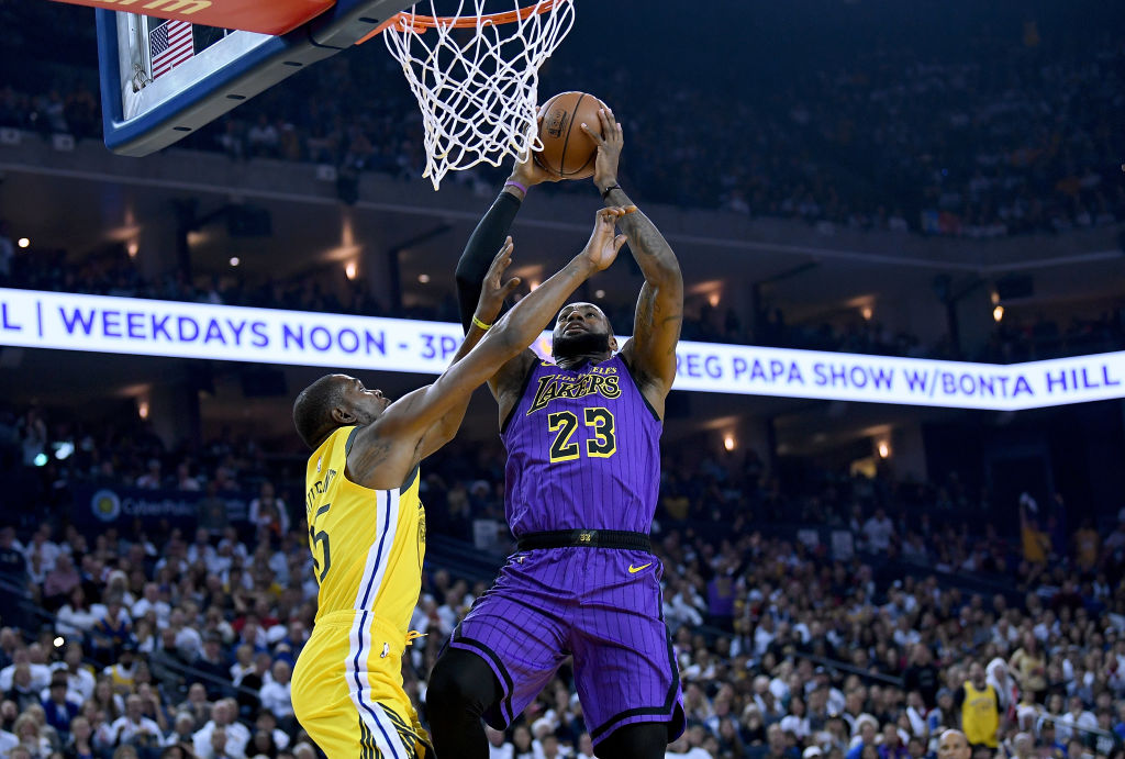 Who's the best player in the NBA -- LeBron James or Kevin Durant?