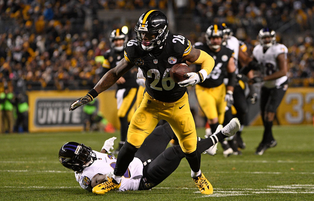 Le'Veon Bell when he played for the Steelers