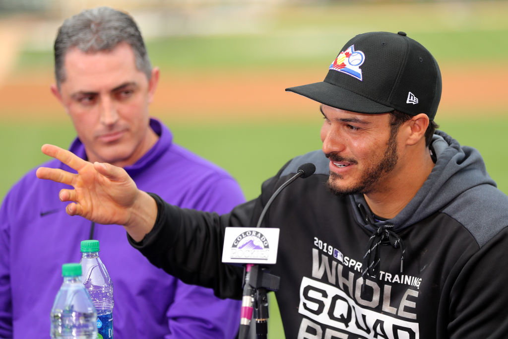 Colorado Rockies third baseman Nolan Arenado signed a huge contract extension in 2019.