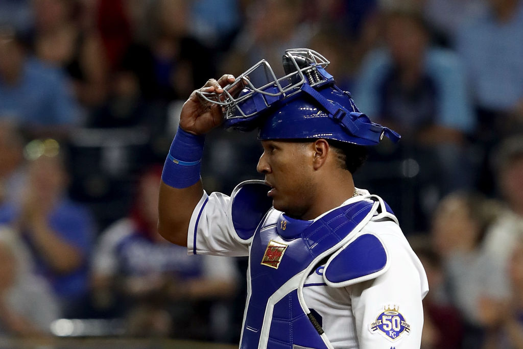 Salvador Perez is the latest catcher to undergo Tommy John surgery.