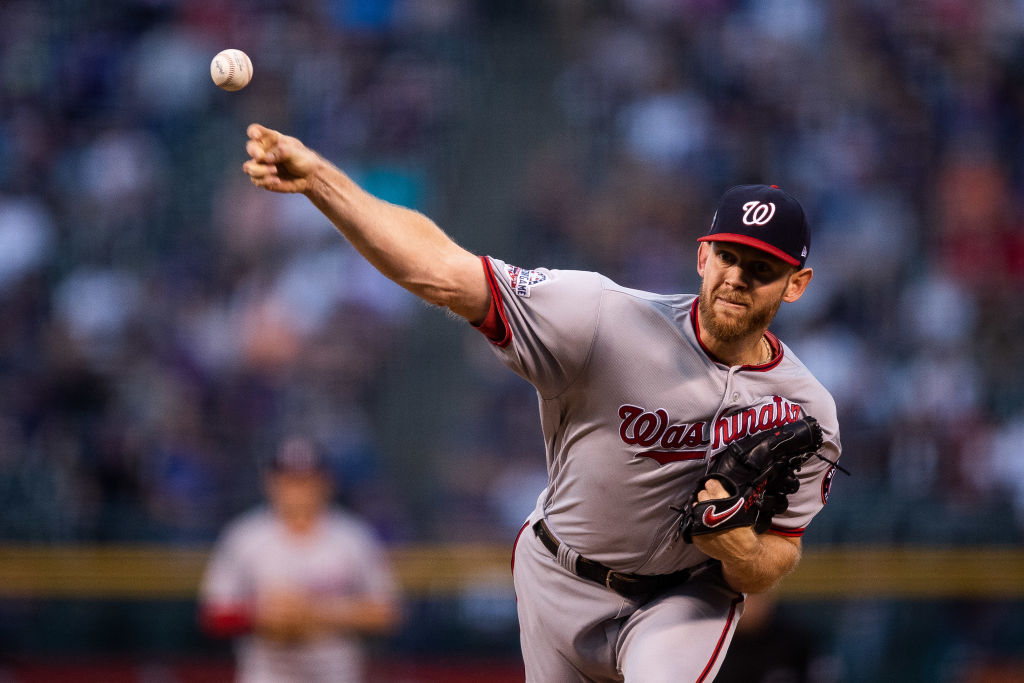 Stephen Strasburg tops the list of the highest paid players in baseball in 2019.