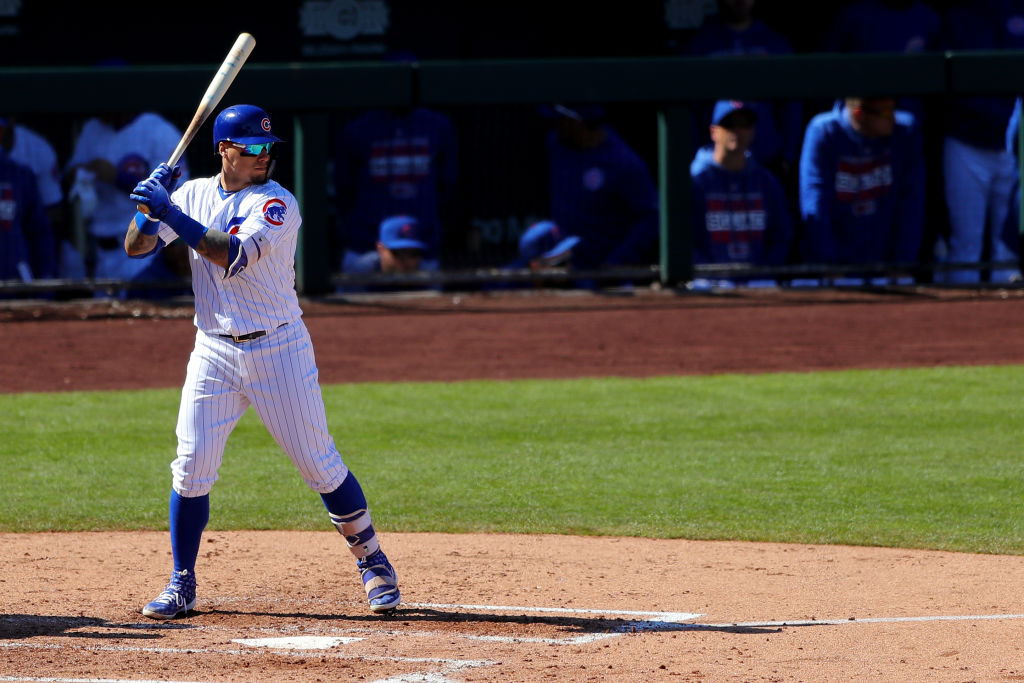 The Chicago Cubs Javier Baez is one of the MLB hitters won't match their 2018 numbers this season.