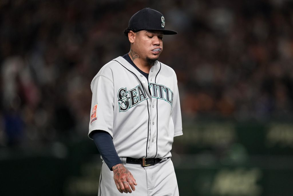 Felix Hernandez made 10 straight opening day starts in Seattle before the streak ended in 2019.