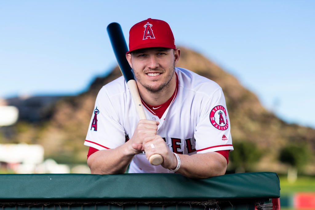 Superstar Mike Trout will remain an Angel for a long time.