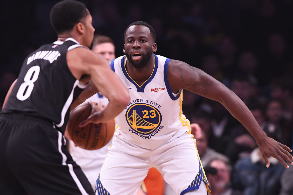 Golden State's Draymond Green is on the short list to win NBA Defensive Player of the Year.