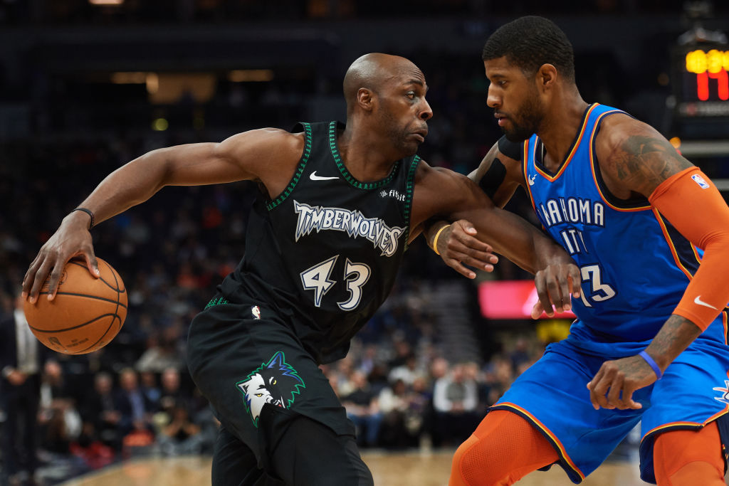 Oklahoma City's Paul George is on the short list to win NBA Defensive Player of the Year.