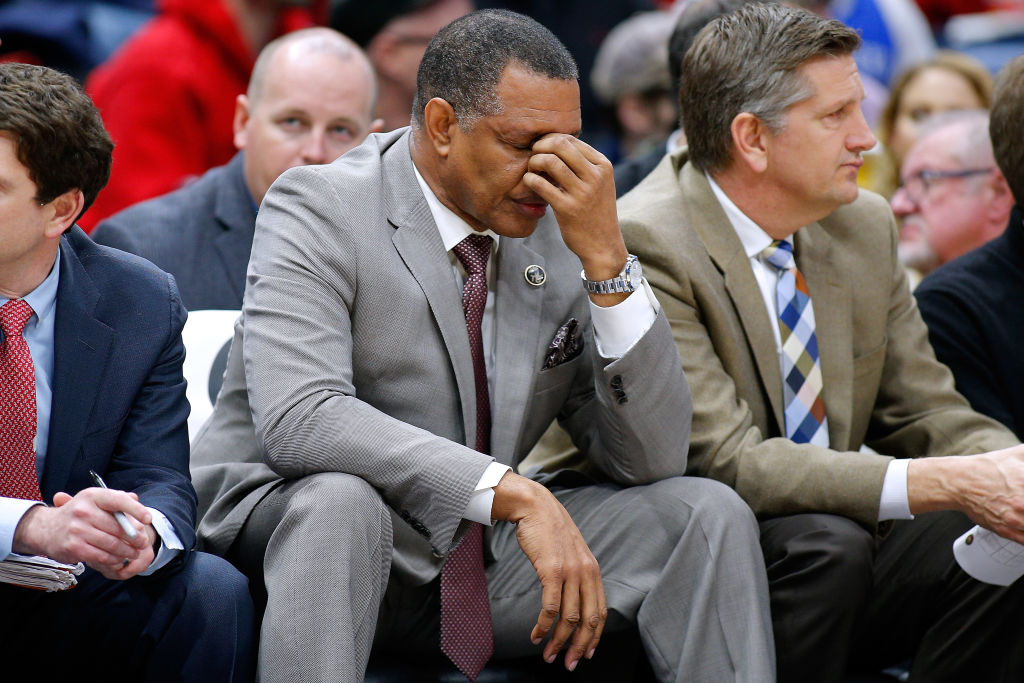 New Orleans' Alvin Gentry is one of the NBA coaches on the hot seat as the 2018-19 season comes to a close.