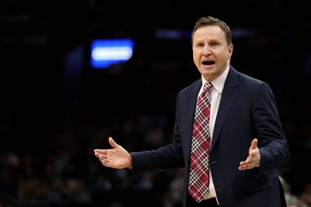 Washington's Scott Brooks is one of the NBA coaches on the hot seat as the 2018-19 season comes to a close.