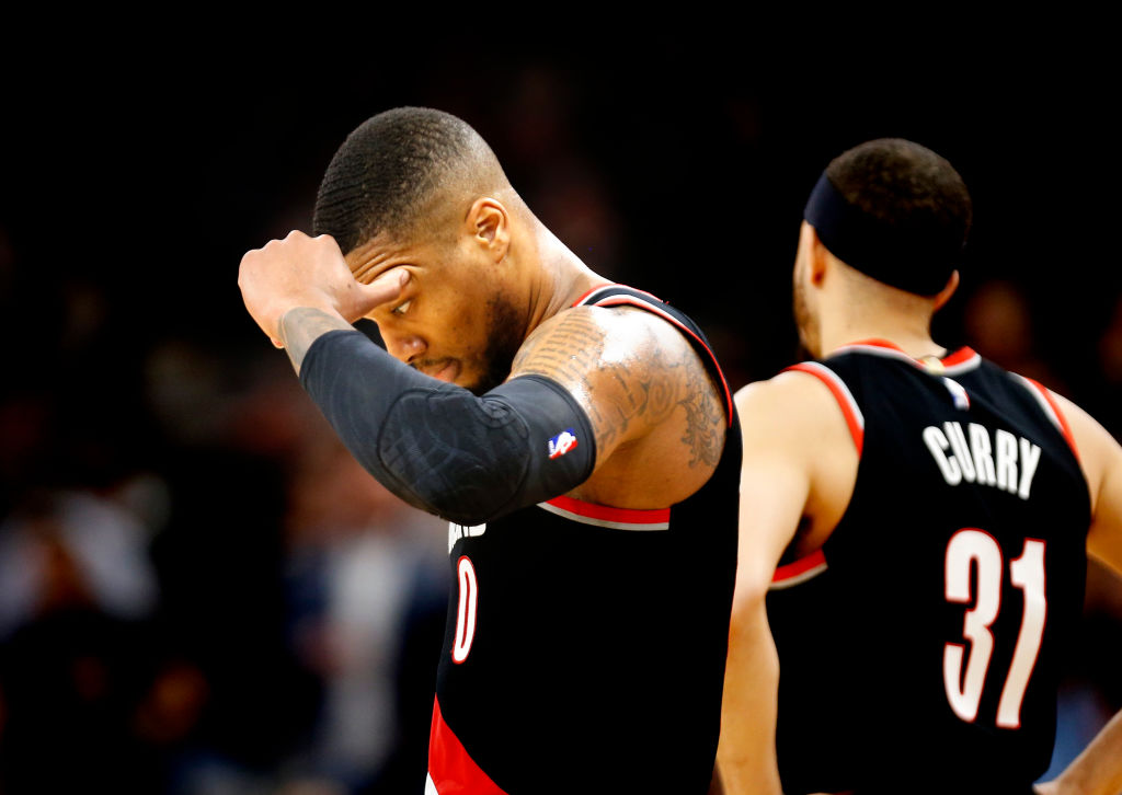 Damian Lillard is one of the few NBA stars who never played in the NCAA tournament.
