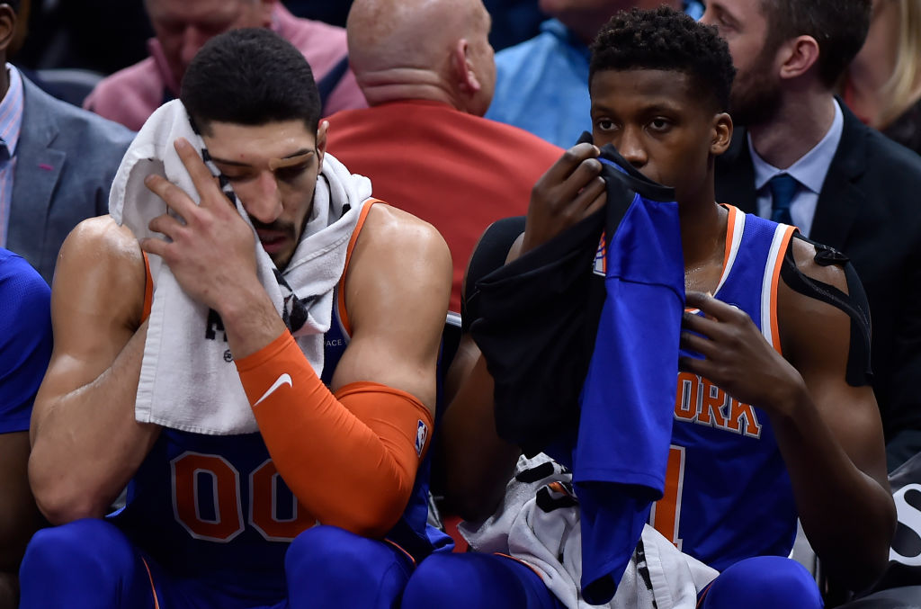 The Knicks have one of the NBA's longest playoff droughts