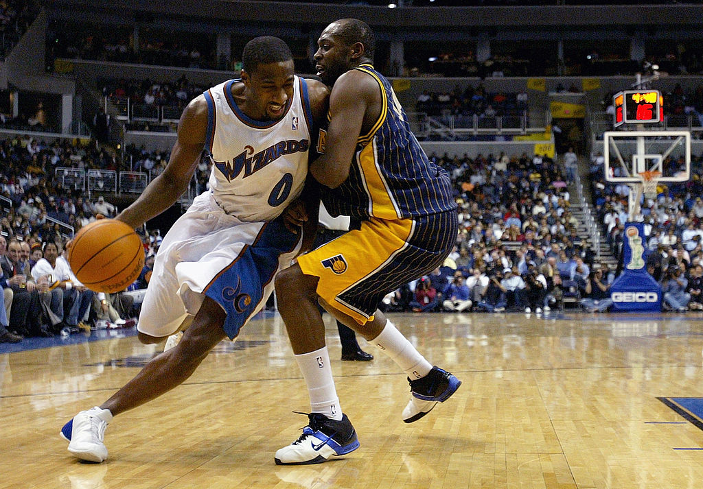Gilbert Arenas went from being one of the biggest NBA stars to being out of the league three years later.