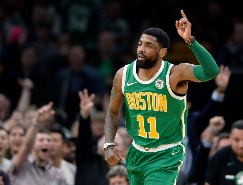 Kyrie Irving might join the next wave of NBA superstars to take over the league.