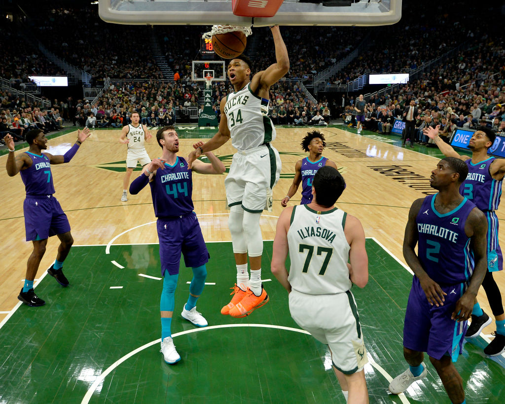 Giannis Antetokounmpo has one of the NBA's most unguardable moves