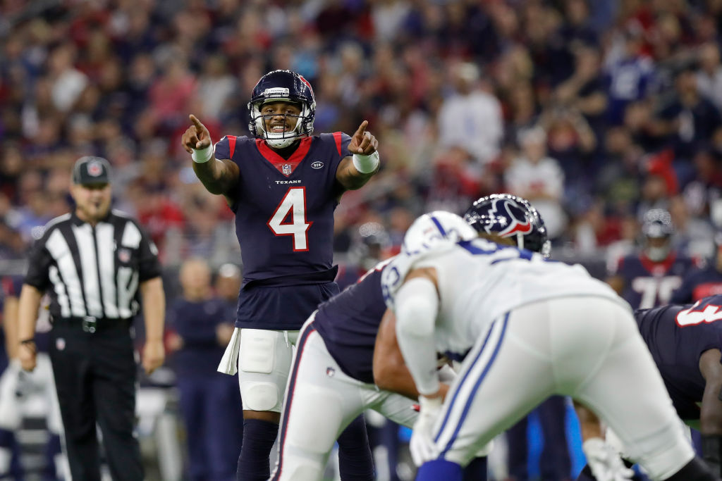 The Texans should add linemen free agency to protect Deshaun Watson