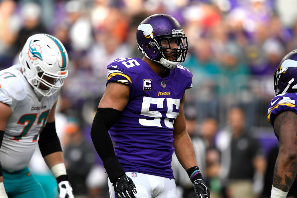 The Vikings retaining Anthony Barr was one of the best free agents moves in the NFL in 2019