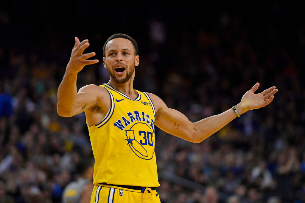 Stephen Curry is definitely in the discussion for best point guard of all time.