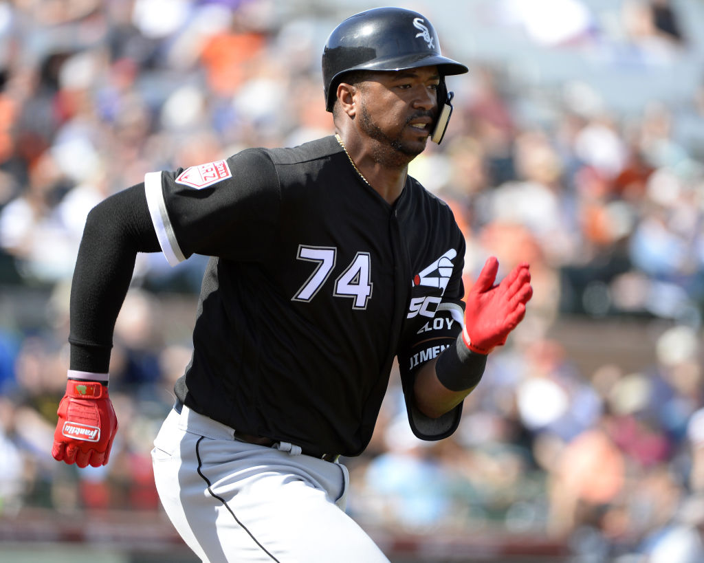Chicago White Sox player Eloy Jimenez